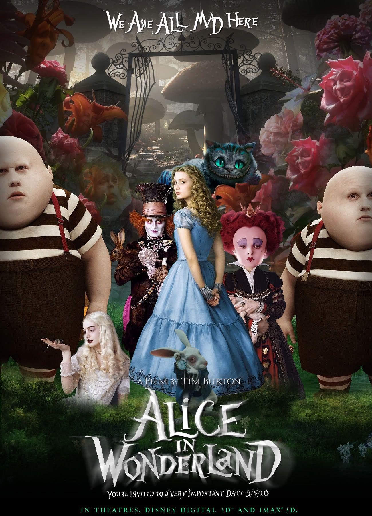 หนังน่าดู : Alice in Wonderland อลิซในแดนมหัศจรรย์ - รีวิวหนัง